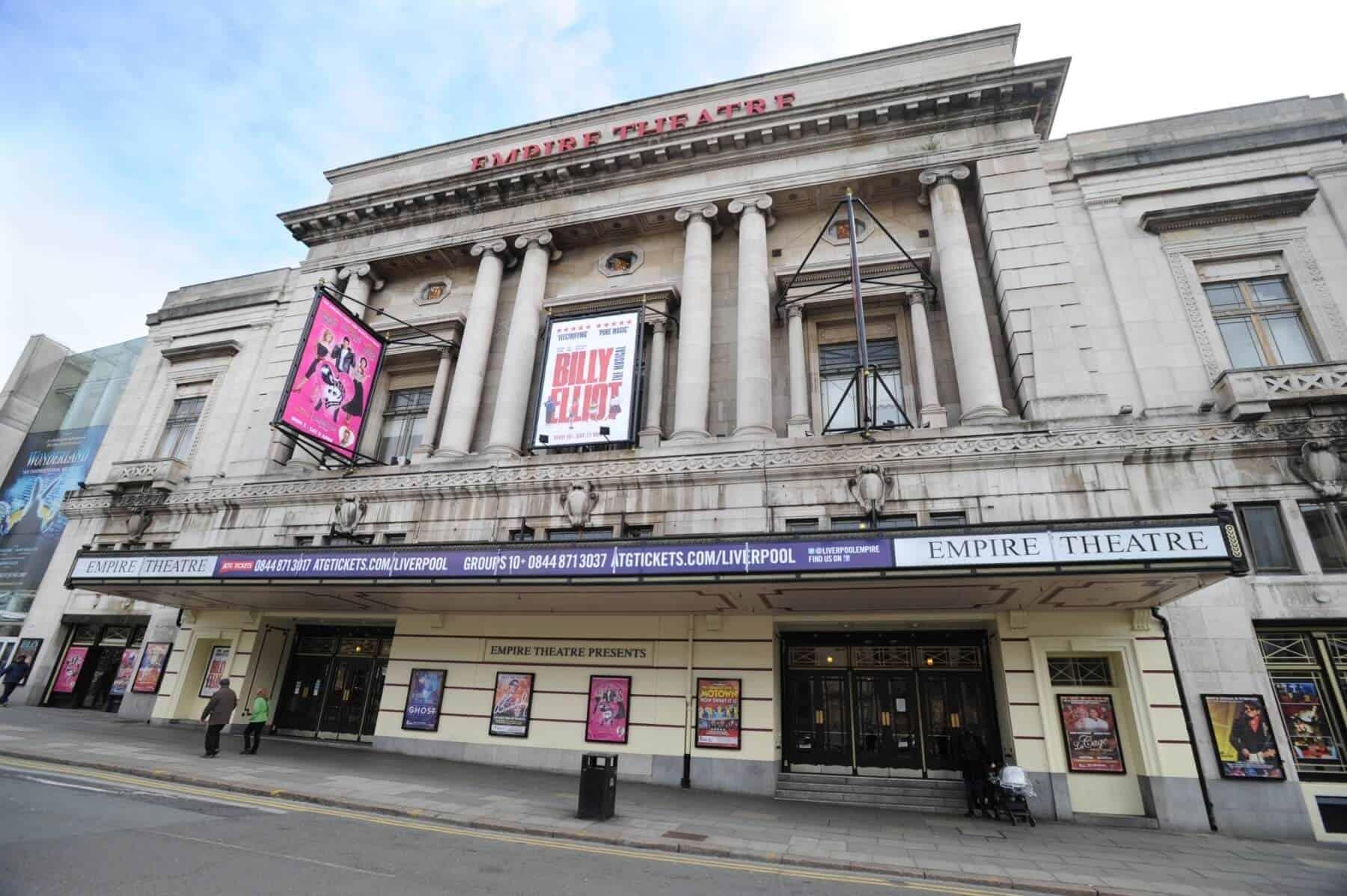 Theatres of The Liverpool City Region