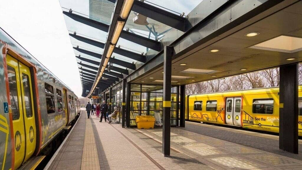 Hop on and off your next stop with Merseyrail