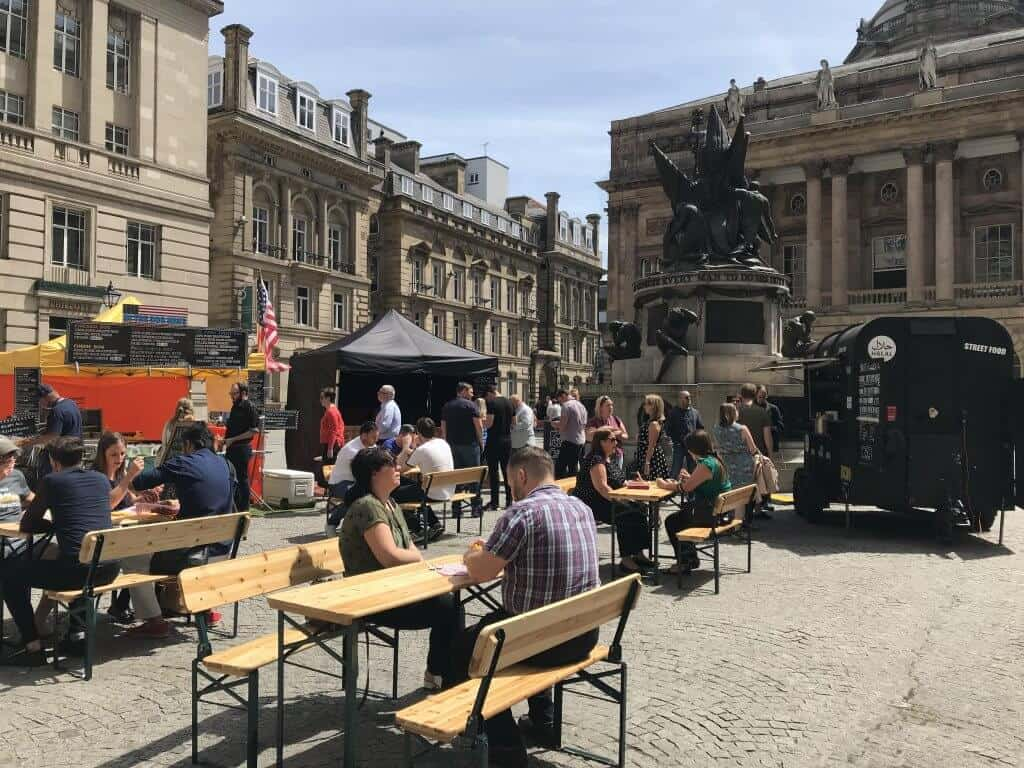 Street Food Fridays returns to Exchange Flags
