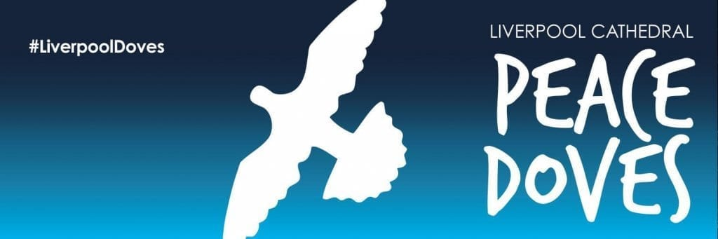 23,000 Peace Doves are winging their way to schools across Merseyside