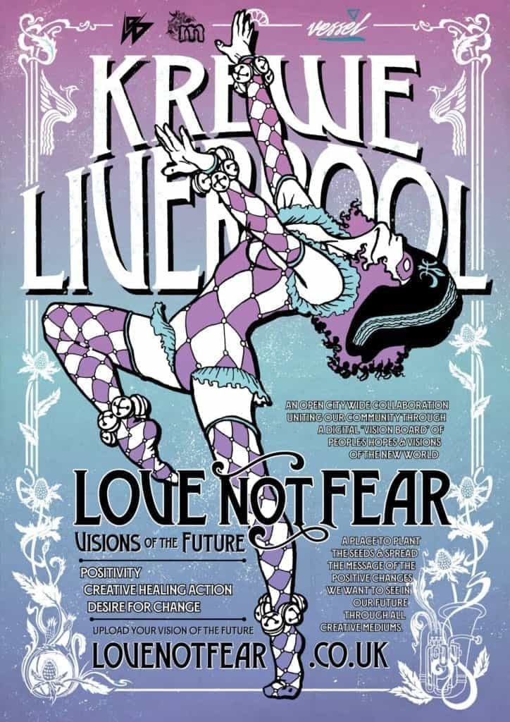Project 'Love NOT Fear' calls for creatives' hopes and visions of the new world