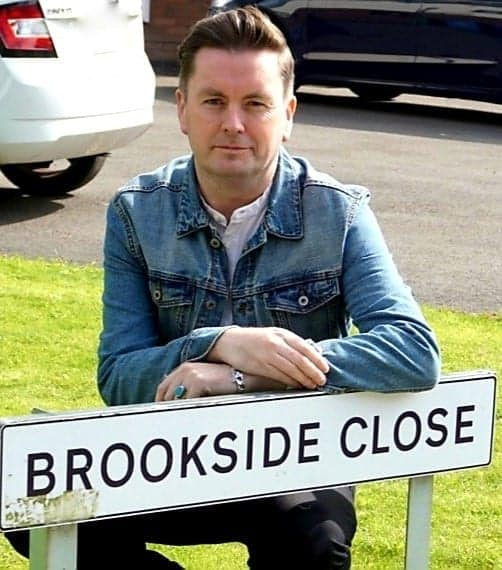 """""""On the Streets I Ran"""" With Justine Kerrigan  & Michael Starke - Brookside Close, to my Heart"""