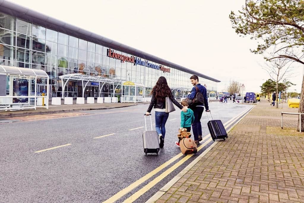 Catch flights not feelings at John Lennon Liverpool Airport