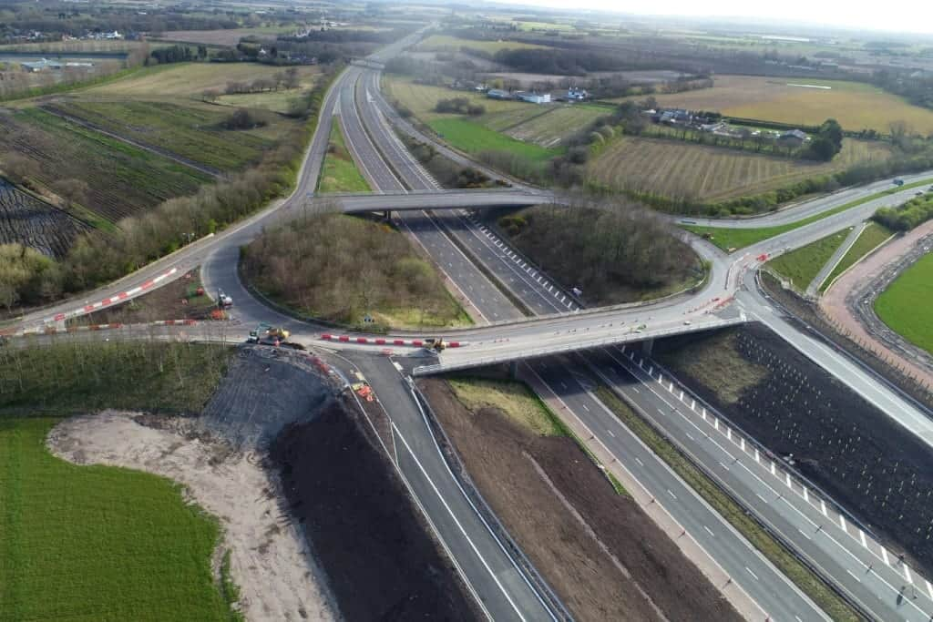 The M58 Junction 1 slip roads have now opened