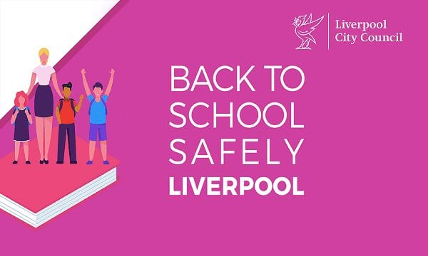 Return to school safely campaign launched in Liverpool