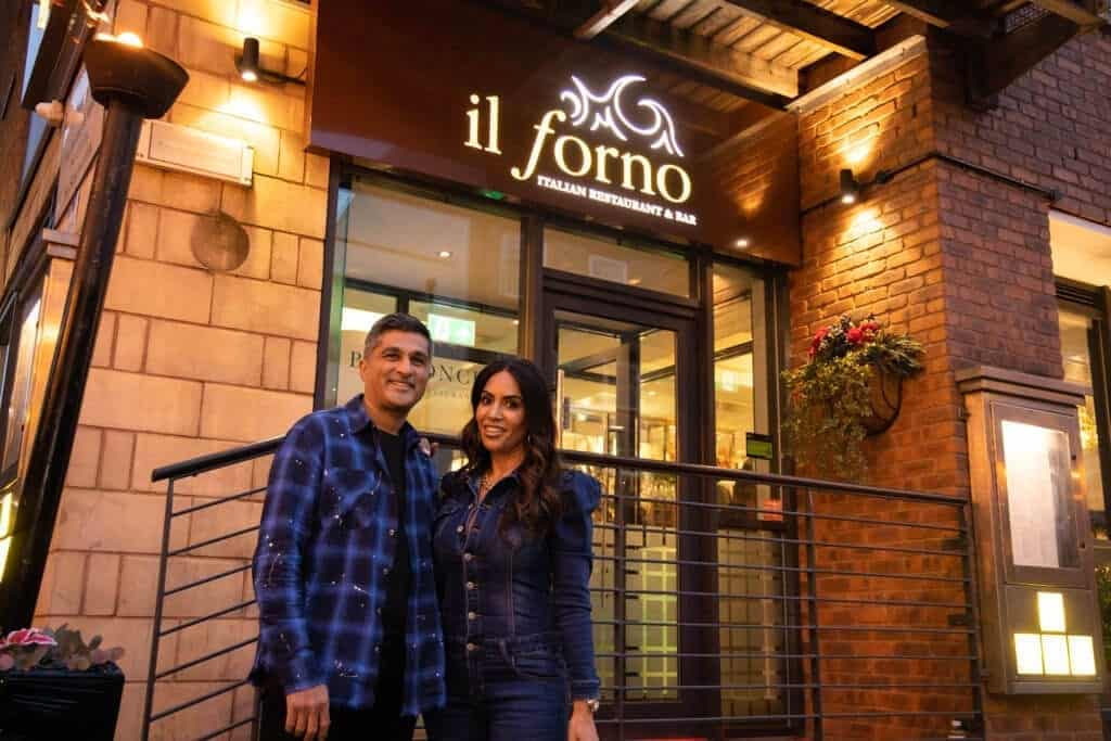 Everton FC boss Carlo Ancelotti and Liverpool celebrities turnout for glamorous Il Forno relaunch