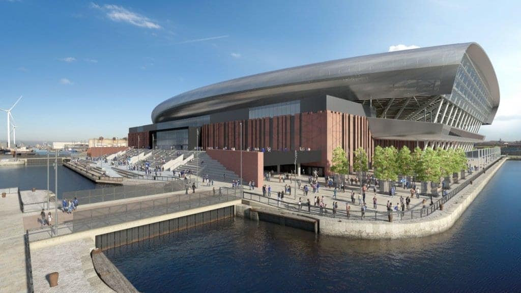 Public views invited as Everton submit amendment to stadium planning application