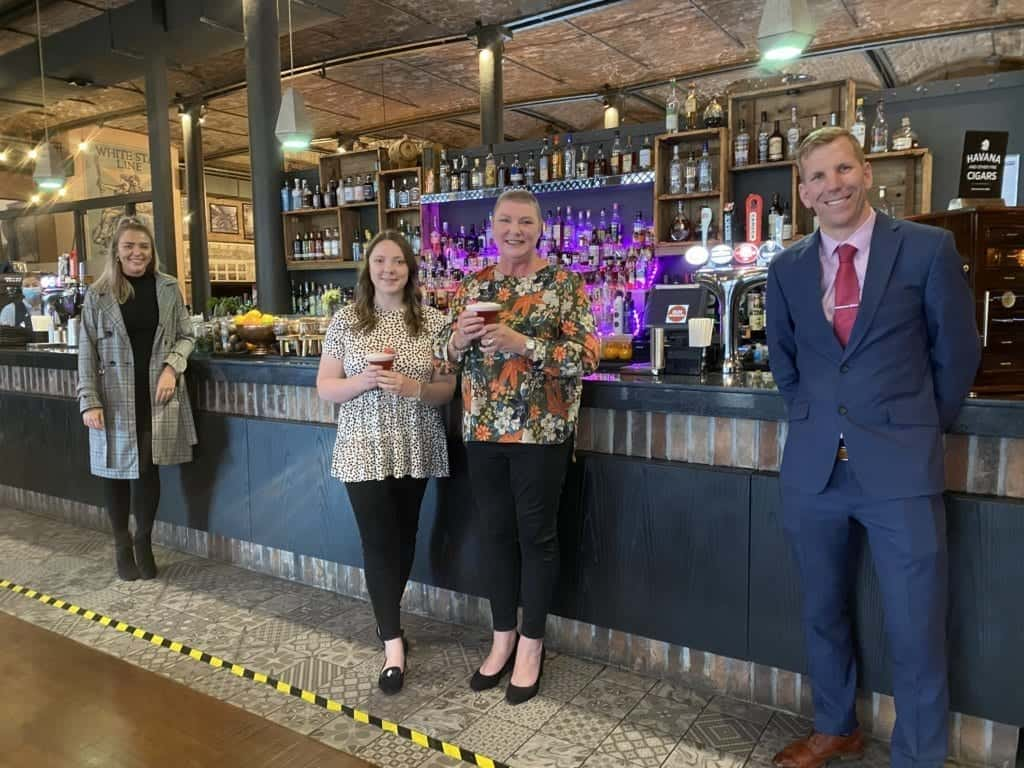 Titanic Hotel Launches Pink Menu for Breast Cancer Awareness Month