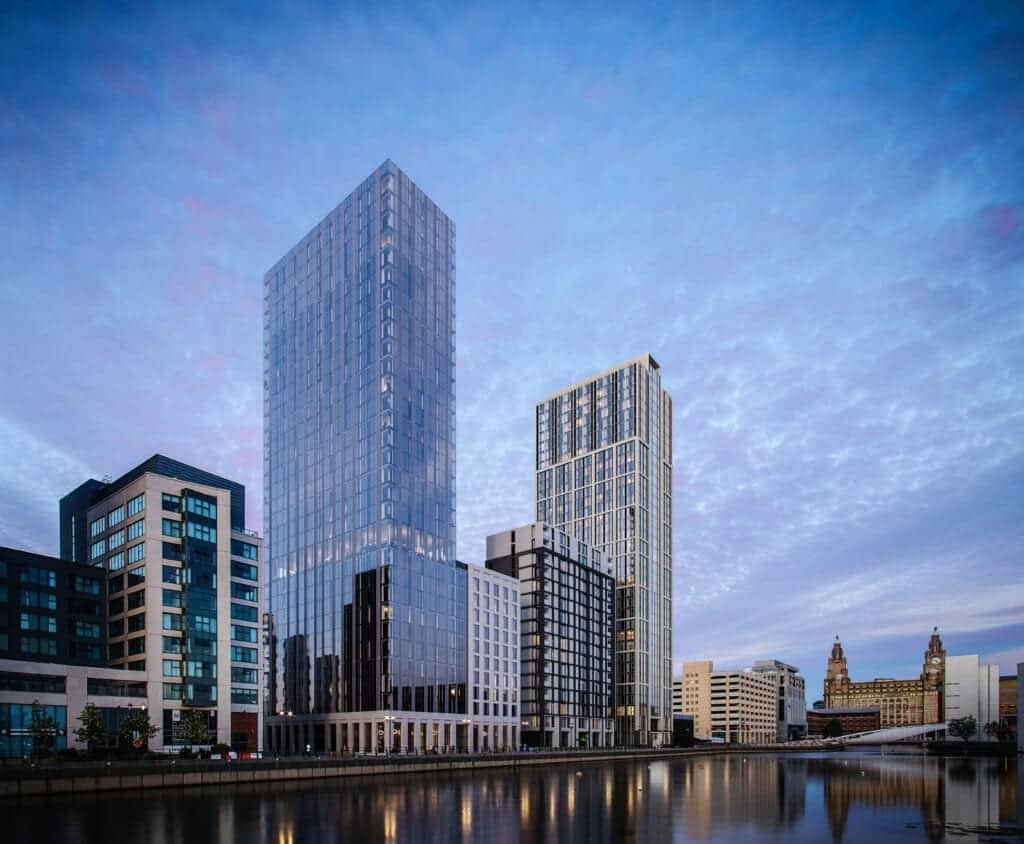Planning permission granted for new residential development at Peel L&P's Liverpool Waters