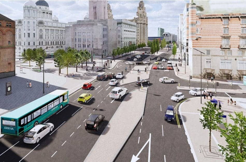 Revamp of The Strand in Liverpool City Centre enters new phase