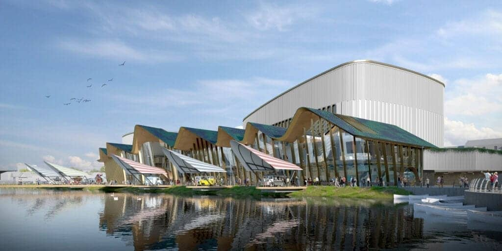Marine Lake Events Centre Set For Southport