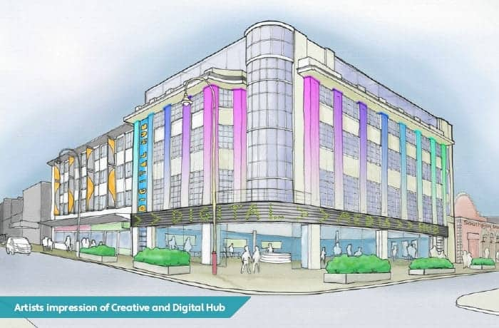 Southport is set to have its first purpose-built incubator spaces for start-up businesses