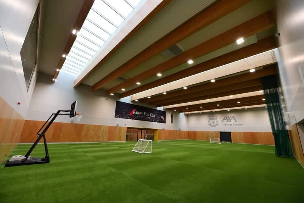 Liverpool FC celebrate opening of new AXA Training Centre