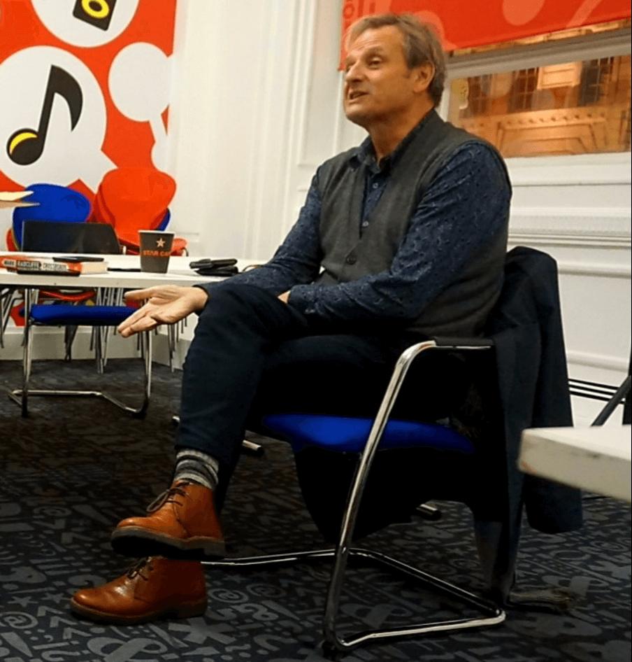 Matt Jacobson interviews radio broadcaster, writer and musician, Mark Radcliffe