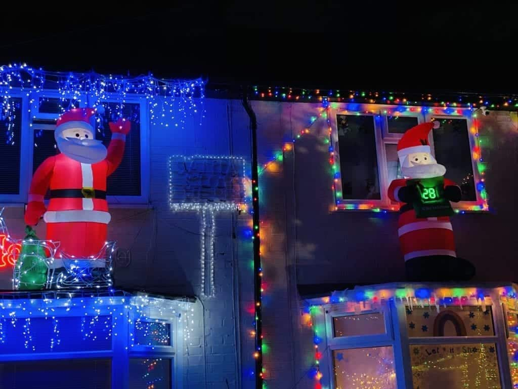 Is Peasefield Road the most festive street in Liverpool?