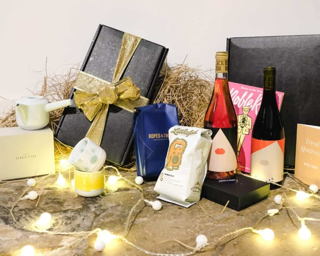 Luxury Christmas hampers for wine and chocolate lovers launched by Ropes & Twines