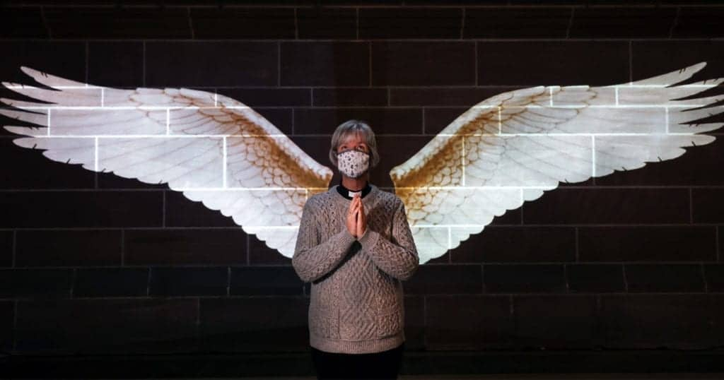 Exciting new Angel Wings light projection artwork and more festive favourites at Liverpool Cathedral