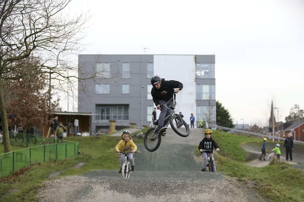 The Eat BMX Repeat event gets Christmas off to a 'wheelie' good start