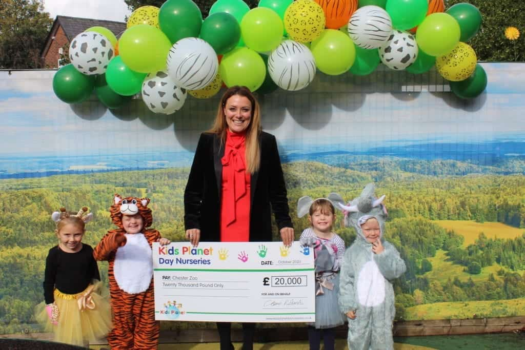 Chester Zoo helped saved from extinction thanks to fundraising 'superstars'