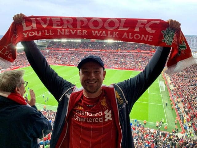 LFC fan Gaz Emmerson to cycle from Land's End to John O'Groats for Sarcoma UK