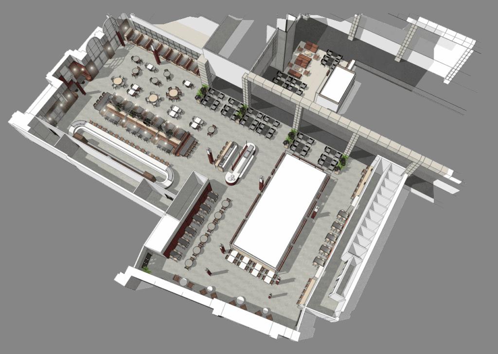 GPO, Liverpool's newest food hall at Metquarter