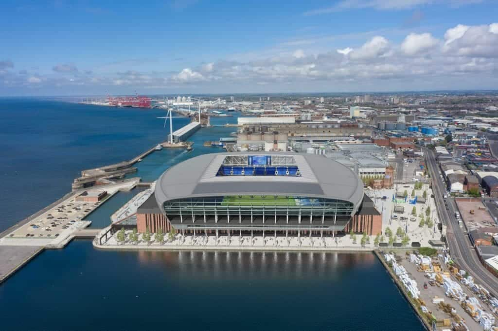 Plans approved for Everton FC's new stadium at Bramley Moore Dock