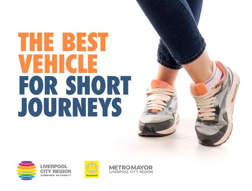 Motorists in the Liverpool City Region are being urged to ditch the car for short journeys
