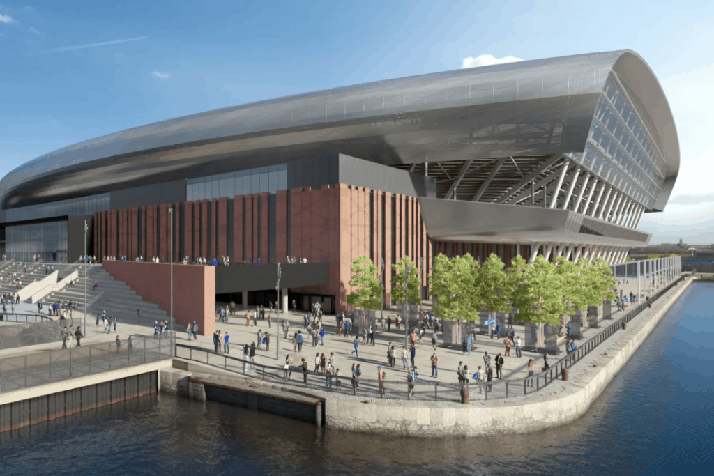 Everton FC's new stadium plans approved by government