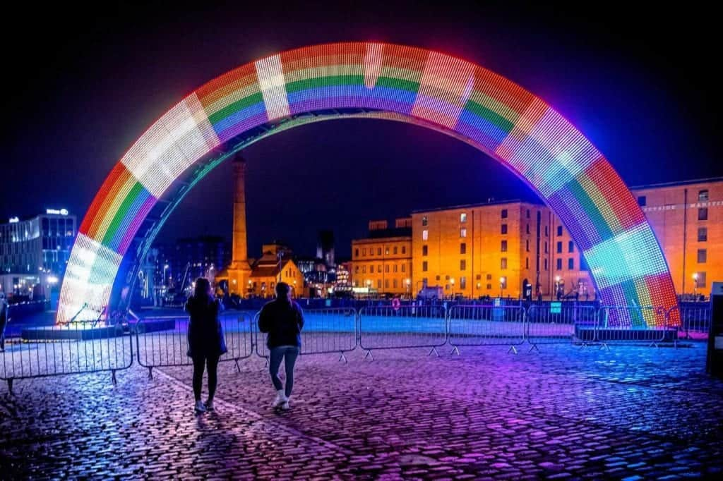 River of Light Trail to light up Liverpool's waterfront