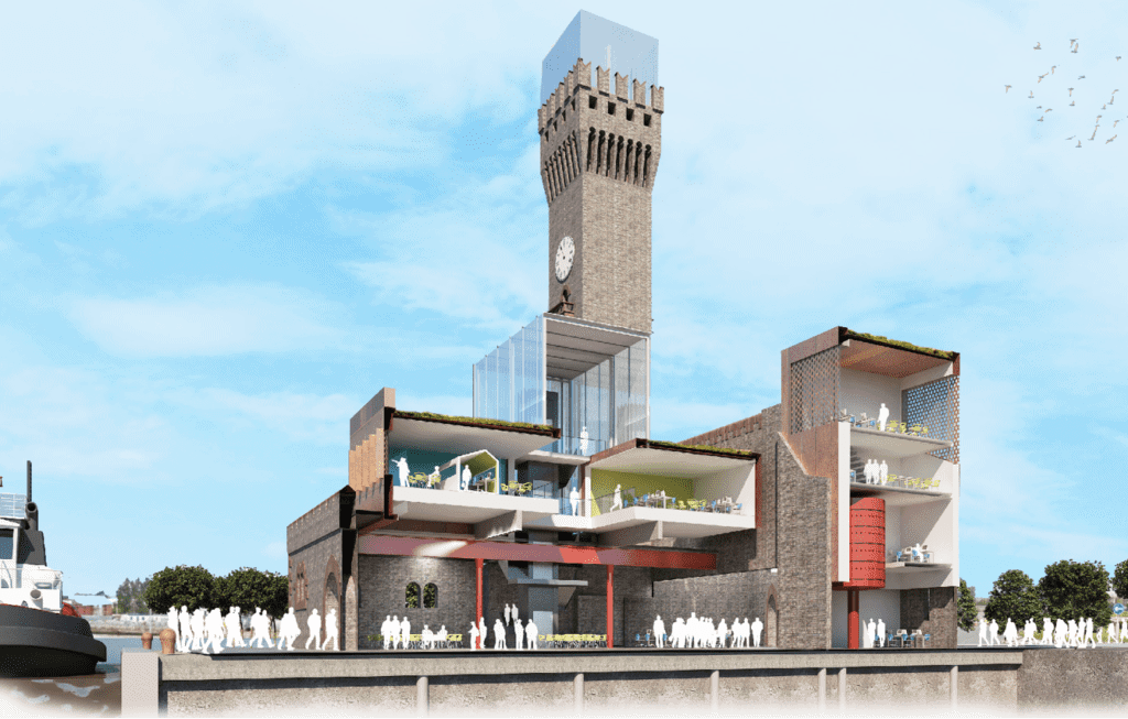 Wirral landmark the Hydraulic Tower building to be transformed