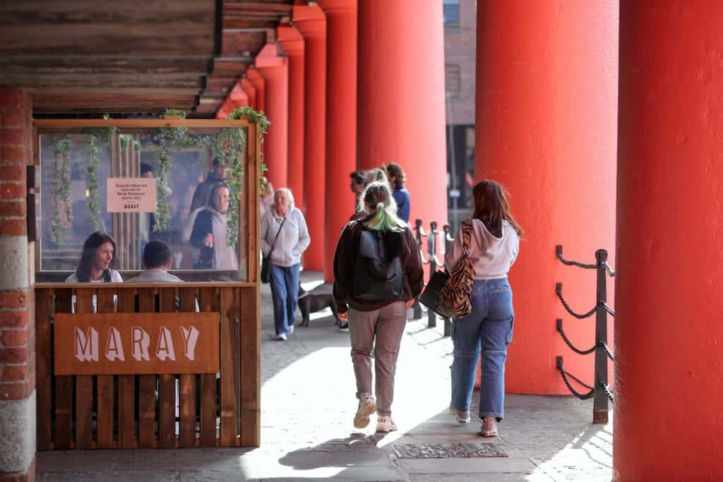 Royal Albert Dock to reopen with extended outdoor seating areas
