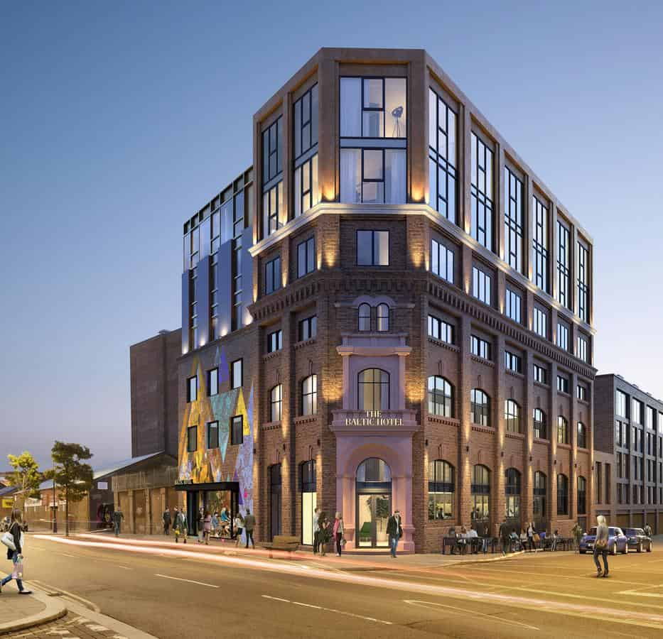 Town Hotels bring 'Shoreditch style' new hotels to the city's Baltic and Ropewalks areas