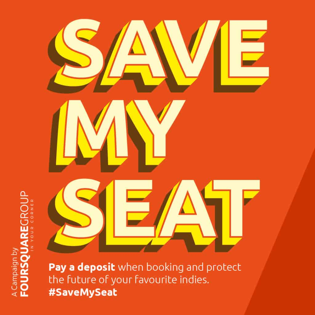 'Save My Seat' campaign launched to encourage deposits for hospitality