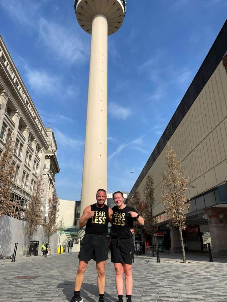 Liverpool UFC star and entrepreneur raise £10,000 for Children's Charities