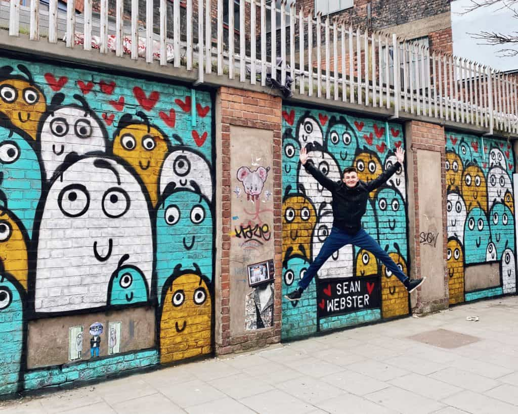 New colourful Sean Webster mural 'TOGETHER' brightens up Jamaica Street