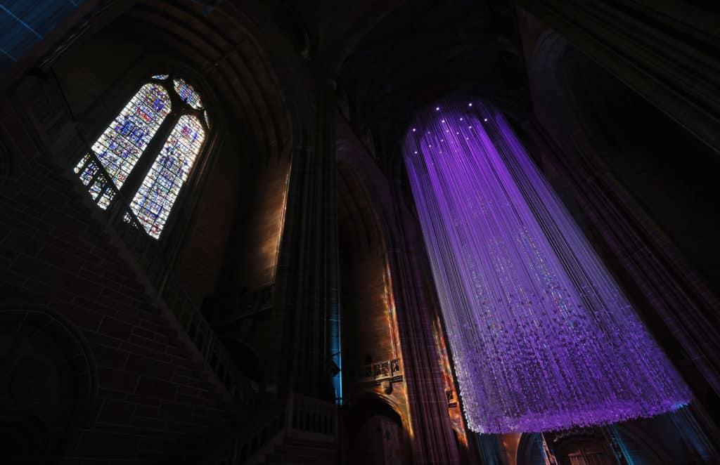 Liverpool Cathedral invites families to experience the Peace Doves