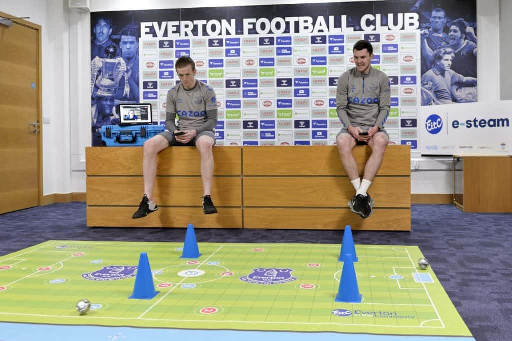 Everton in the Community launches football-themed technology initiative for Merseyside schools