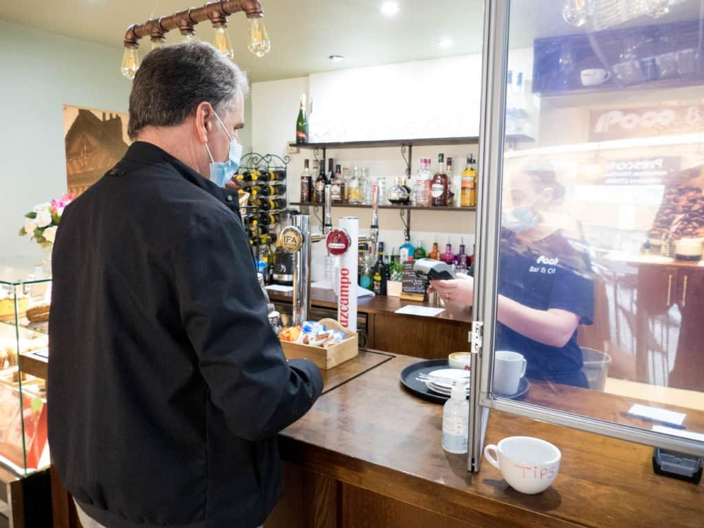 "Metro Mayor Steve Rotheram sees impact of ""Lifeline"" funding as hospitality businesses re-open"