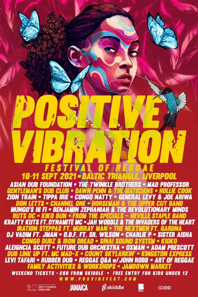 Stellar line-up announced  this year's Positive Vibration – Festival of Reggae