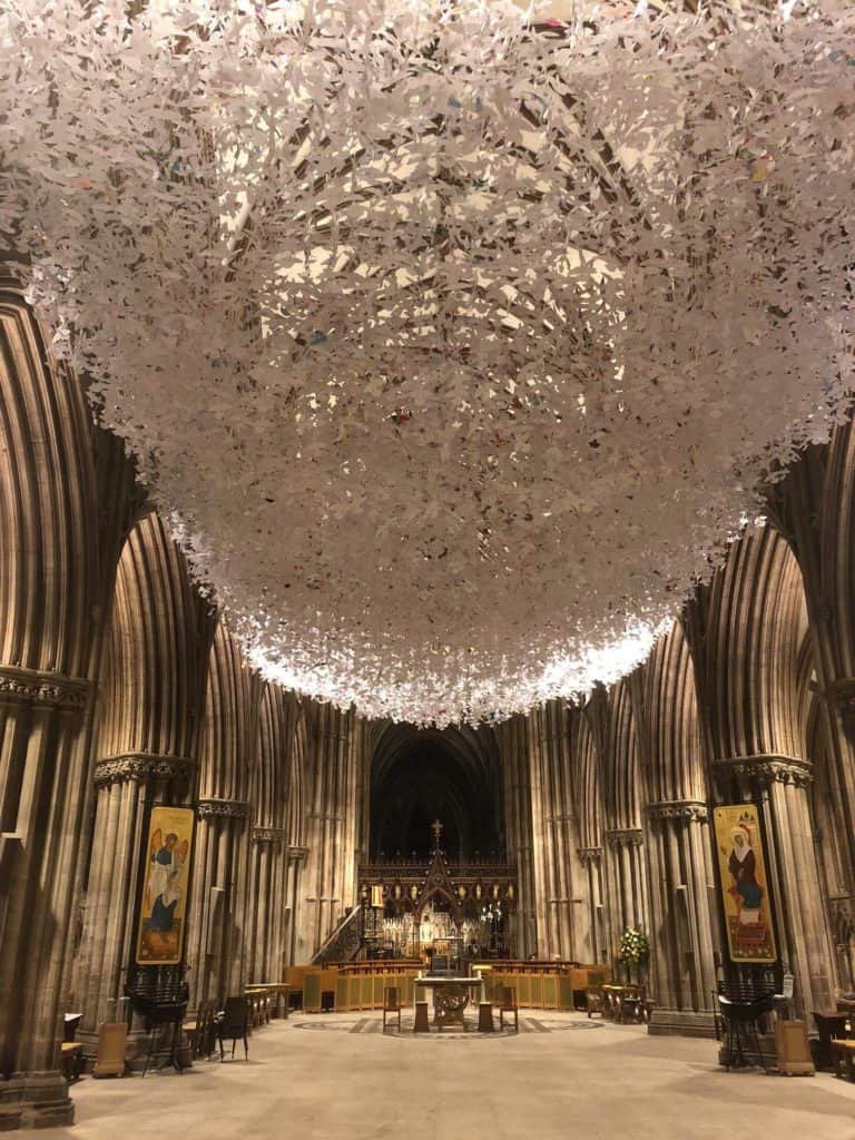 Liverpool Cathedral Peace Doves to finally launch this month