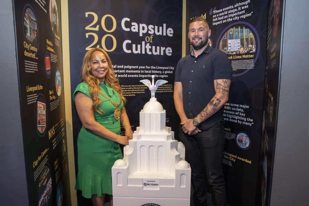Royal Liver Building unveil 2020 time capsule