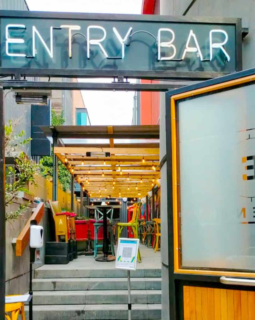 The Entry Bar Liverpool