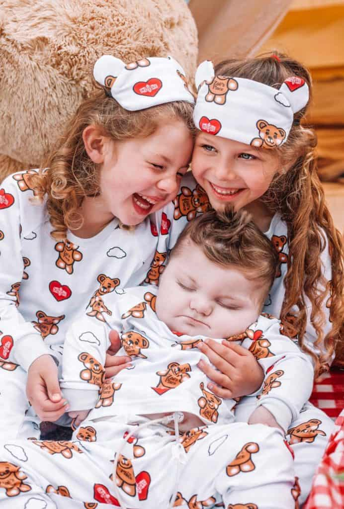 Zoë's Place Baby Hospice team up with The Sleepover Club for limited edition pyjama's to raise money and awareness