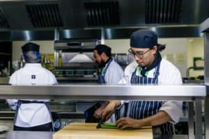 The Academy Restaurant gets top marks for disposing of leftovers