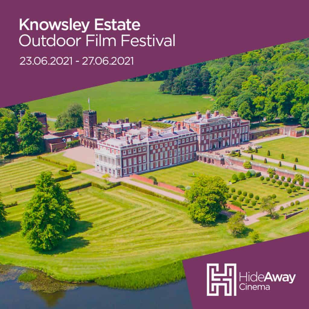 Hideaway Cinema heads to Knowsley Estate this Summer