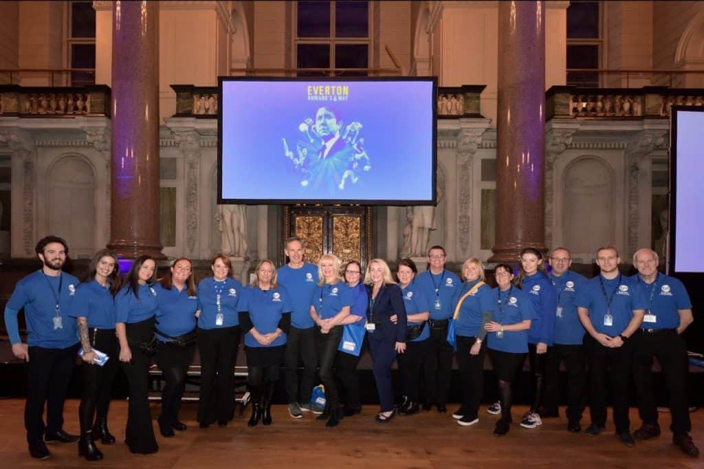 Everton in the Community receive The Queen's Award for Voluntary Service