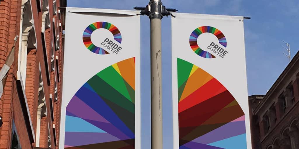 "Stanley Street Quarter in Liverpool Rebranded ""Pride Quarter"""
