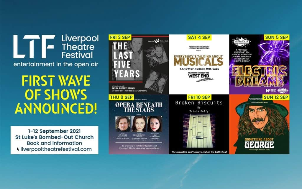 Liverpool Theatre Festival announce first waves of shows