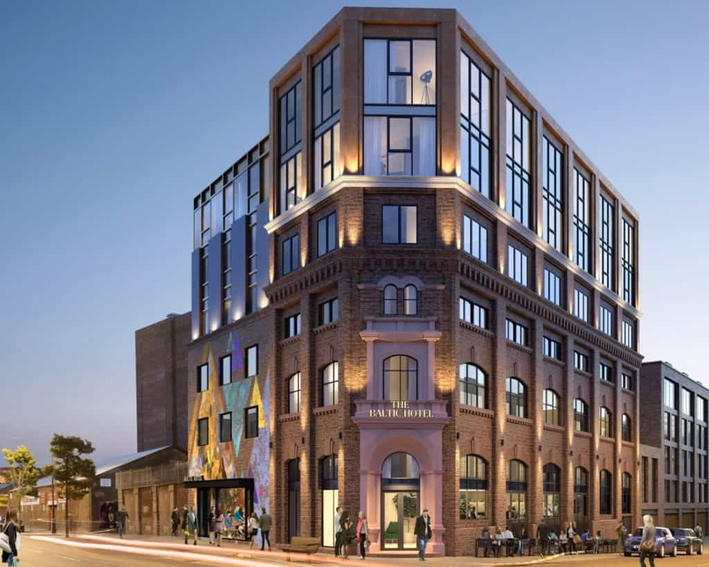 The Baltic Hotel will be the first hotel ever in the Baltic Triangle