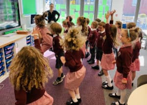 Schoolchildren unite in song to highlight vital environmental message